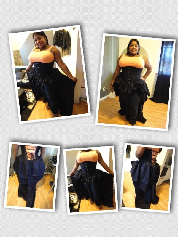 long corset