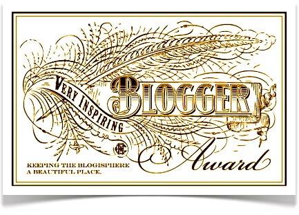 The Very Inspiring BloggerAward