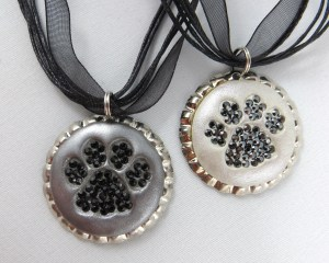 Cat PAW Print Necklaces