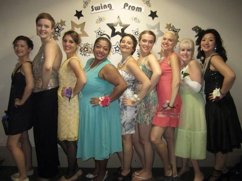 swing dancing prom