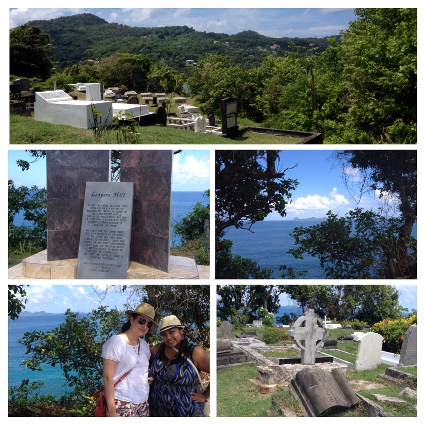 Leapers Cliff in Grenada