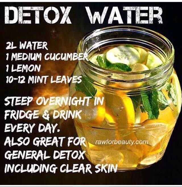 February: Detox Water