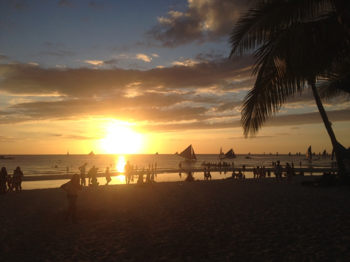 Our last sunset of Boracay