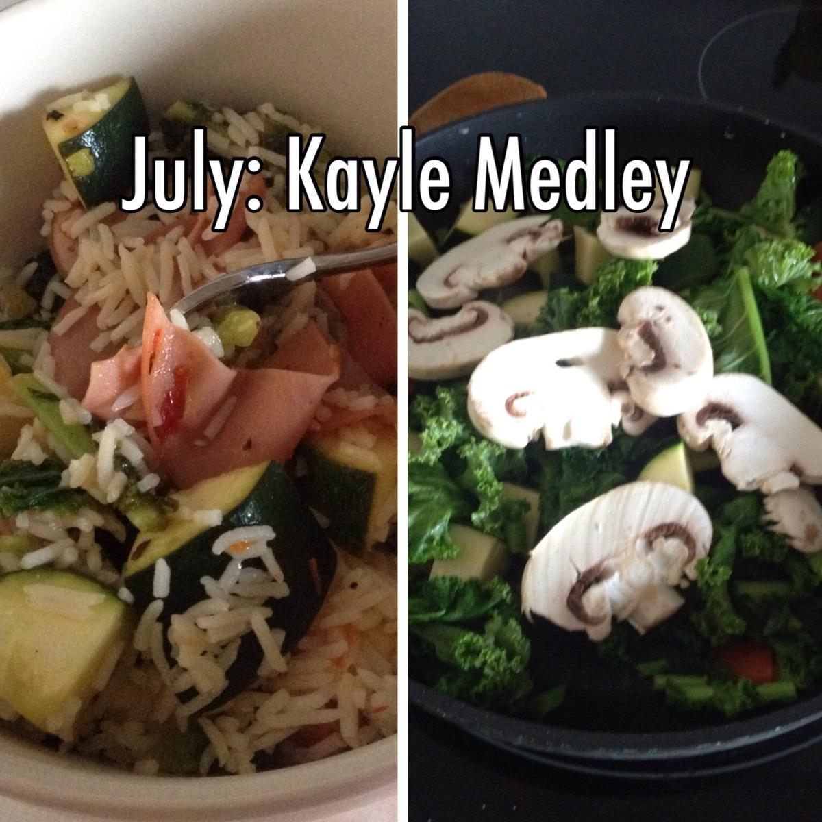 July: Kale Medley