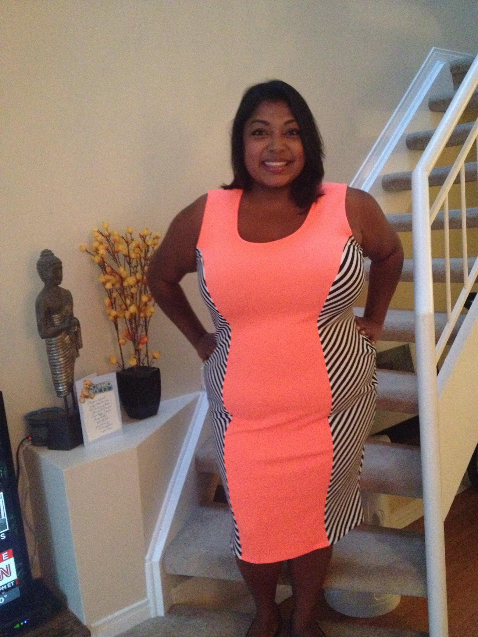 PPMeow! In orange neon zebra stripes